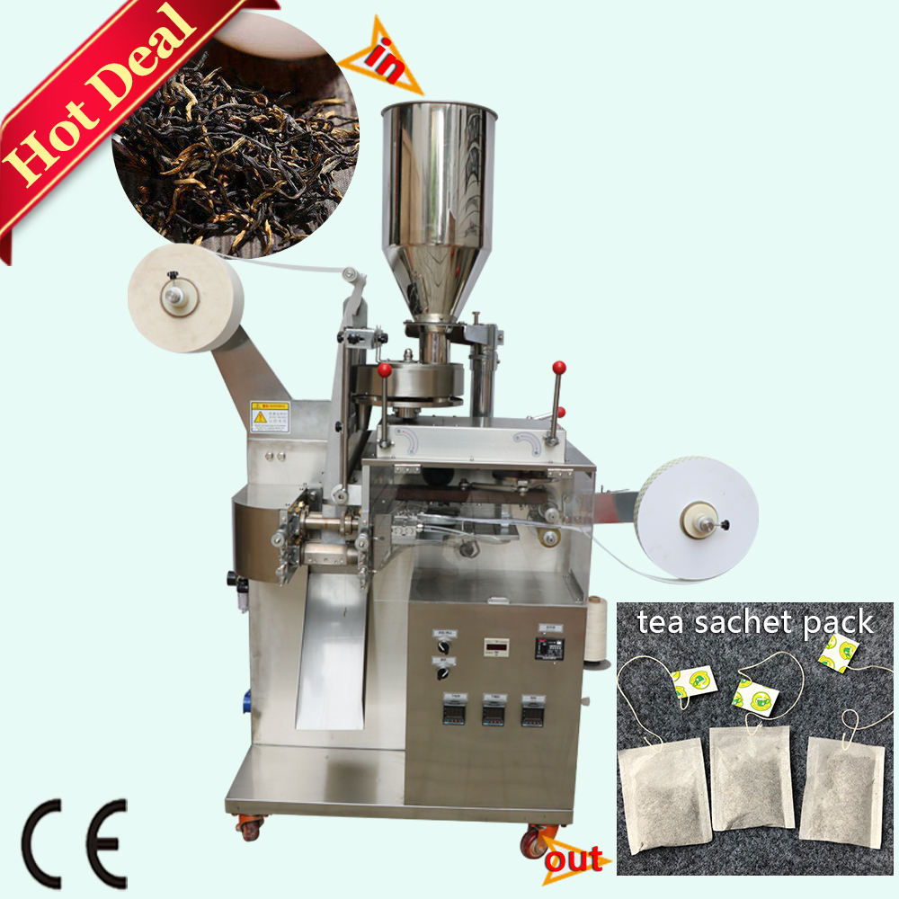 Small Sachets Powder Packing Machine High Quality Low Price Automatic Price Small Tea Bag Filter Paper Tea Powder Sachet Pouch Packing Machine With CE
