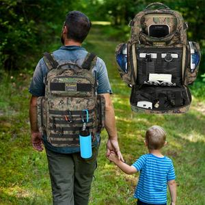 New Large-capacity multi-functional daddy backpack waterproof mummy diaper bag outdoor travel backpack