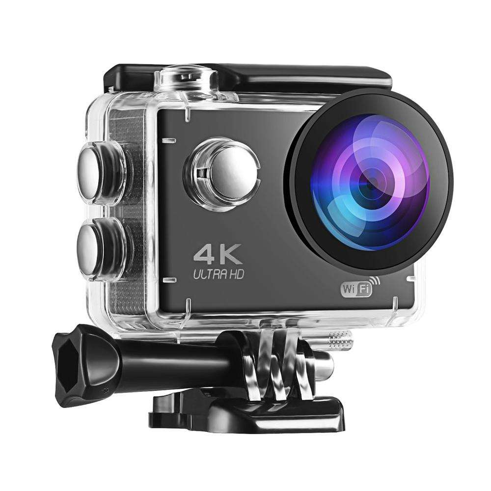 Video Camera Waterproof Action Camera 4K Sports Ultra HD action Cam 2.0' Screen 1080p Sport Cam