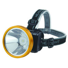Powerful Led Mining Light headlamp Miner's rechargeable Battery head lamp light torch