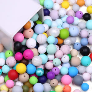 Wholesale Loose Bead Baby Teething Beads Silicone Beads