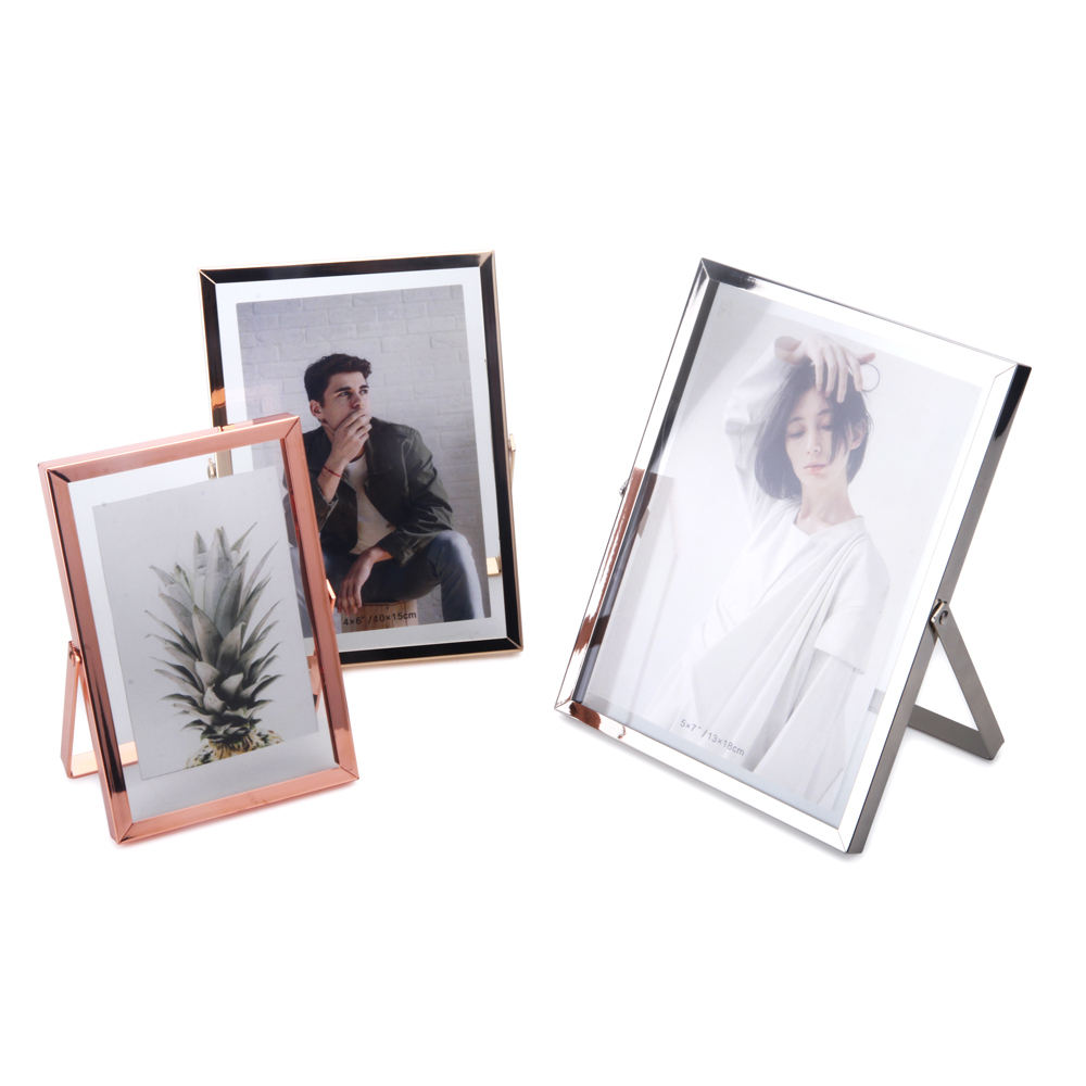 Metal Photo Frame Material,Antique Brass Glass Metal Picture Photo Frame