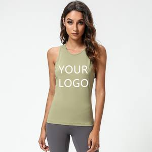 [Free Sample] Women Tank Top Apparel Design Services Slight Customize Women' Breathable Tank Tops