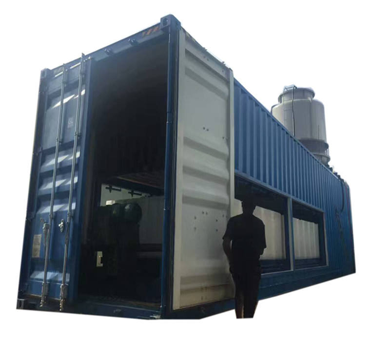 20Ton industrial ice making machines ice machine factory containerized block ice