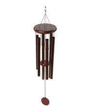 Metal tube wind chime in outdoor Garden windchime