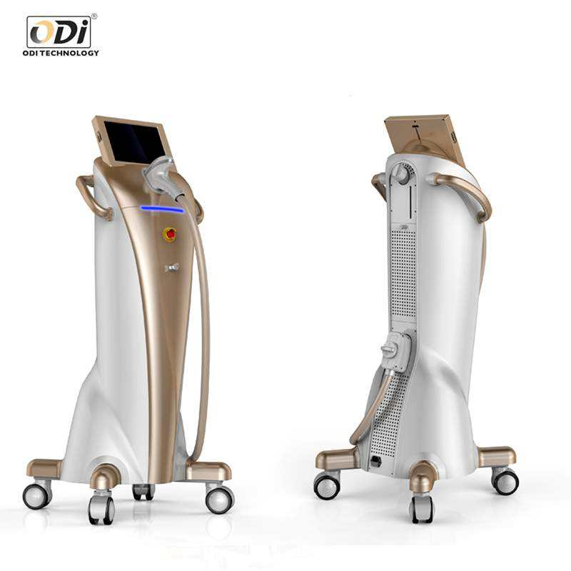 China one-way laser q switch permanent hair removal machine tattoo for student