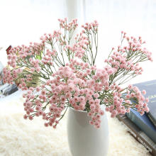 Soft latex Gypsophila Home wedding decorative flower Artificial Gypsophila