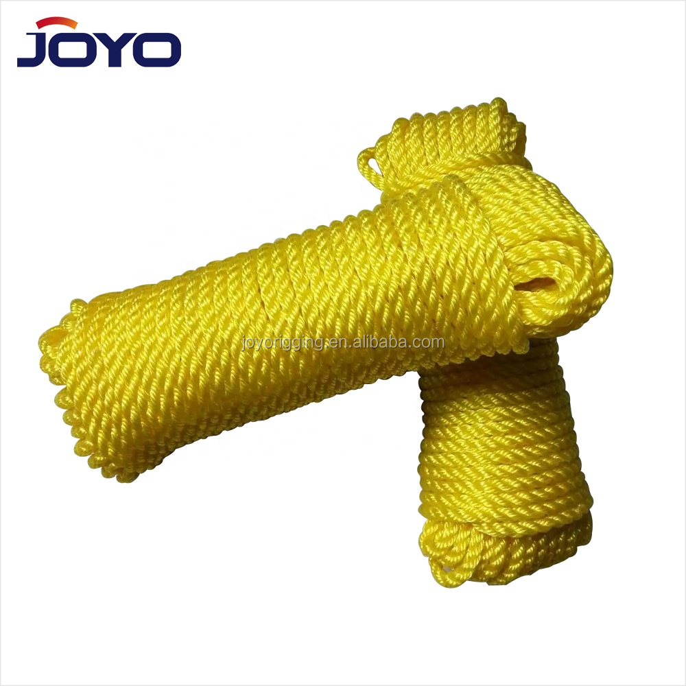 Factory supply plastic pp multifilament braided rope