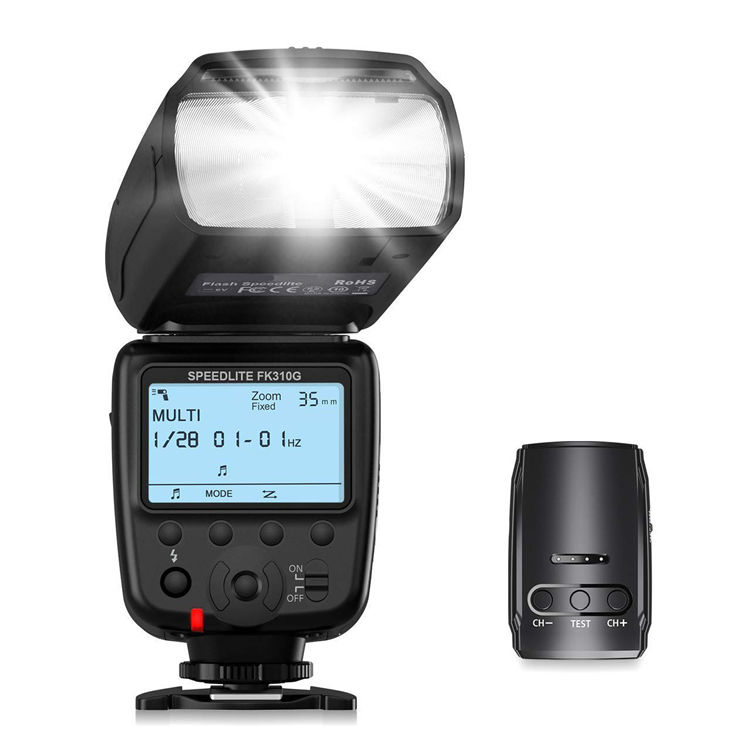 CensReal/OEM FK310G Camera Flash Light for Canon Nikon EOS Digital Camera with Flash Gun