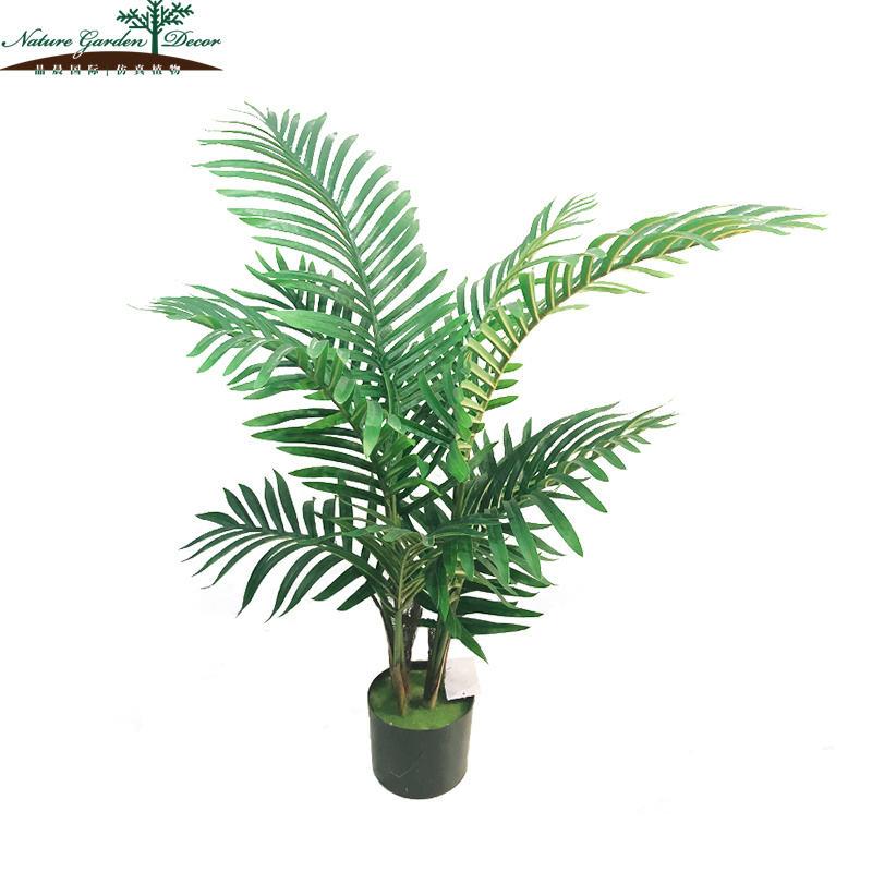 カスタマイズされた人工モデル植物オフィスヤシの木の装飾
