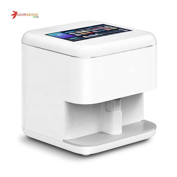 2020 Newest nails printer 3d digital nail art machine price