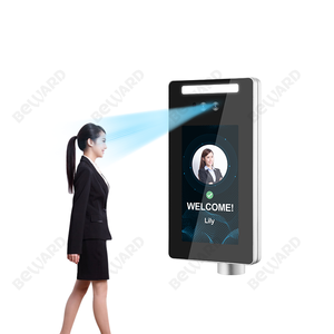 Provided HTTP/MQTT 7 inch Facial recognition door access control system biometric face recognition