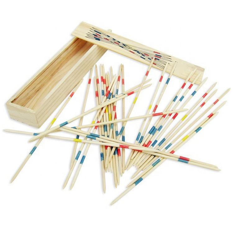 Houten <span class=keywords><strong>Mikado</strong></span> Pick Up Sticks Game Set