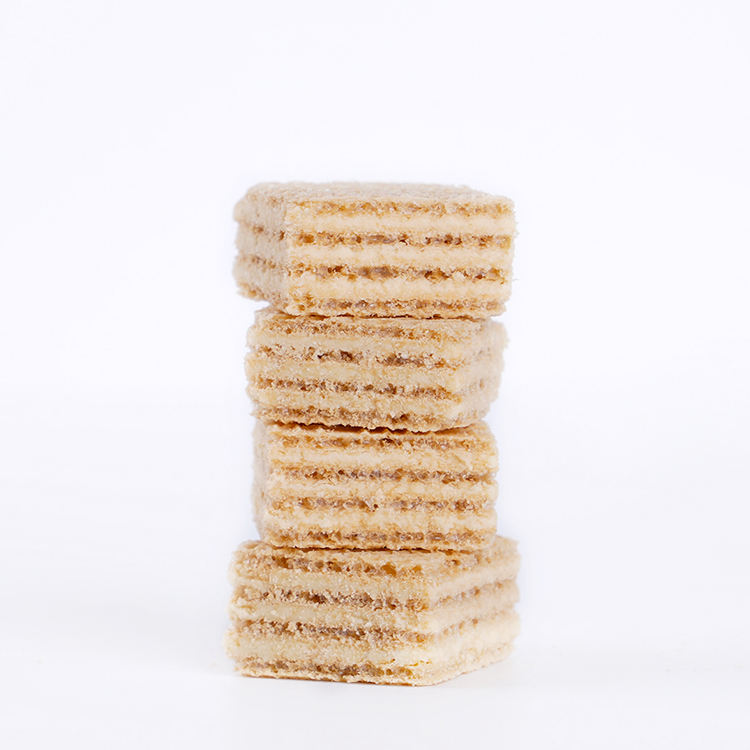 Healthy Snack Bulk Packing Crispy Soya-Milk Wafer Biscuit