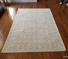 US hotting selling living room 8x10ft high and low pile microfiber rug