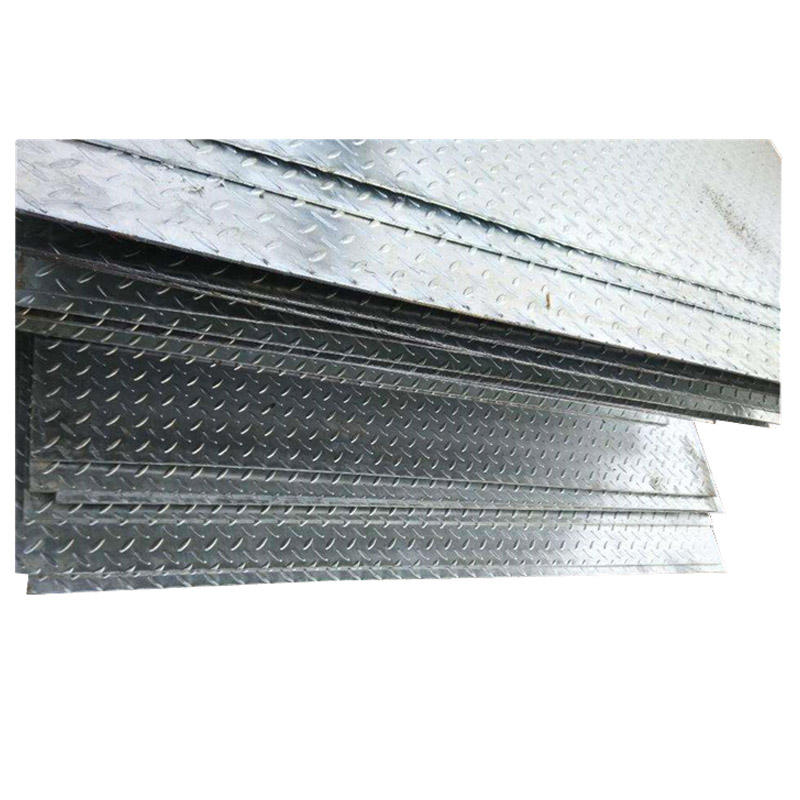 Hot Dipped Mild Steel Galvanized Checkered Checker Plate