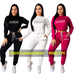 Two Piece Pants Set Blank Sweat Tracksuit Wholesale Custom Logo OEM Hand Tag Collar Tag Customization Factory Direct RS00179