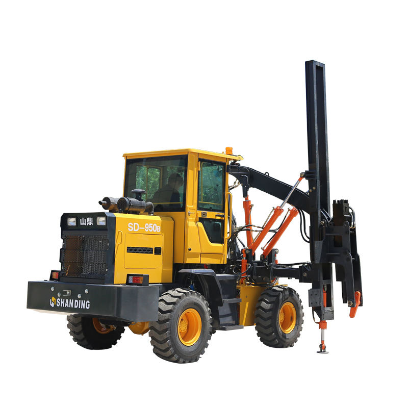 CHEAP PRICE HIGHWAY GUARDRAIL PILE DRIVER MACHINE FOR SALE SMALL PILE DRIVER