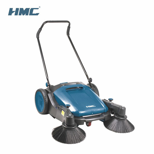 HMC 3S098 Walk Behind Floor Sweeper Hand Push Cleaning Width 980mm