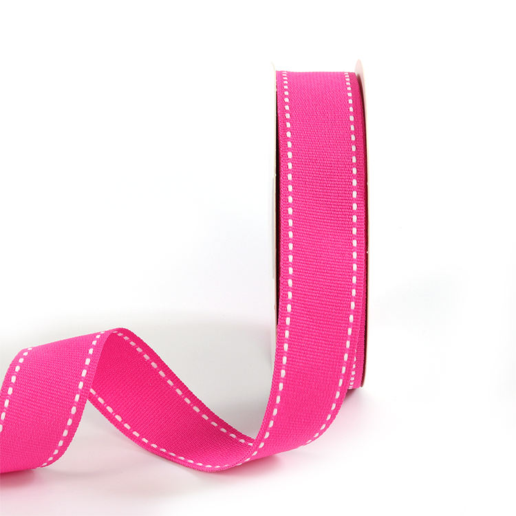Bargain Bag of Mixed Grosgrain Ribbon Solids and Dots min 100 yards JOB LOT
