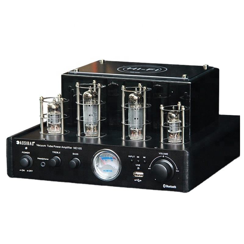 <span class=keywords><strong>Home</strong></span> <span class=keywords><strong>Theater</strong></span> Amplifier Tabung Stereo 40W * 2, dengan USB/BT