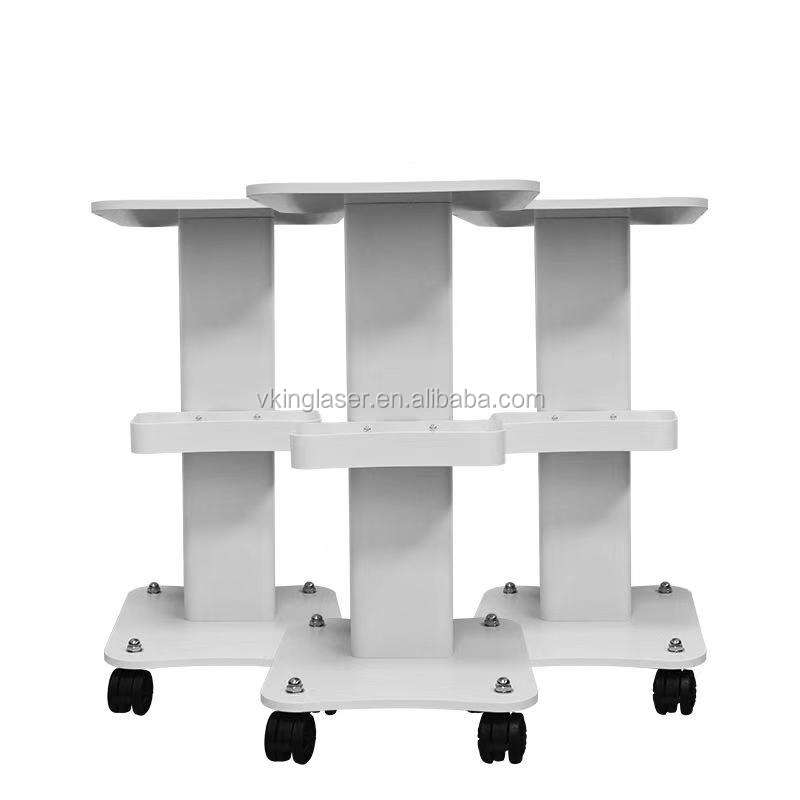Hot sales medical Beauty salon hospital multifunctional equipment machine trolley simple storage multilayer ABS mobile trolley