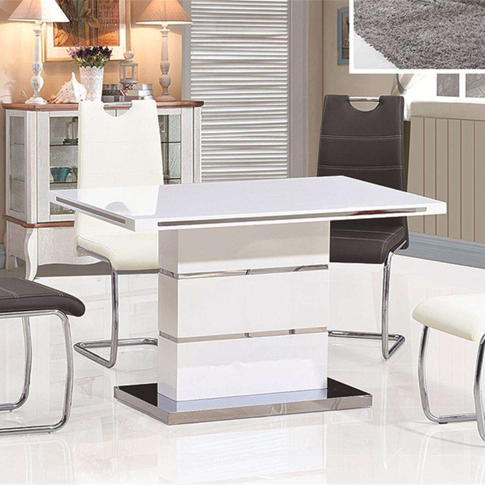 Restaurant Furniture Dining Tables Chairs Set Marble New And 6 Custom Packing Room Modern Office