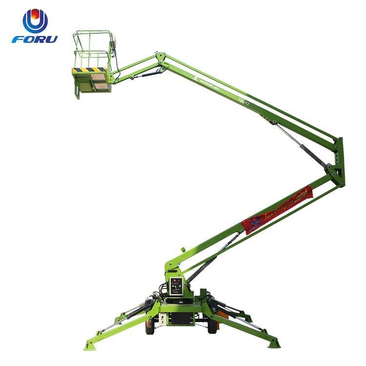 Hot Sell Self Propelled Telescopic Boom Lift With Cab