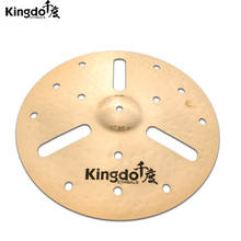 "B20 16"" o-zone crash with holes kingdo CHINA  profesional   handmade effect cymbals"