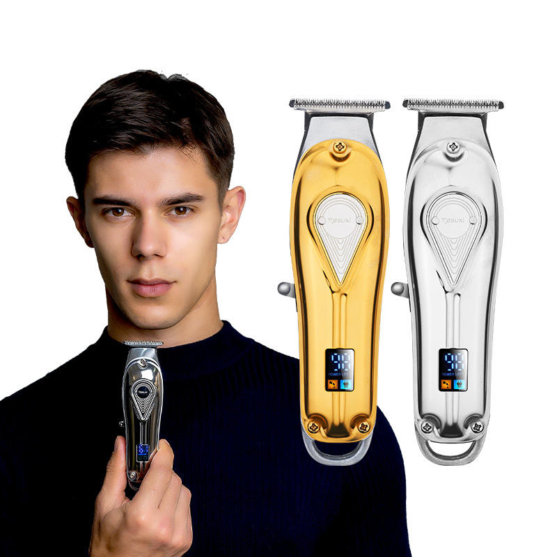 new design metal trimmer hair hot electric barber men professional low noise USB charging sharp quiet hair trimmer clipper