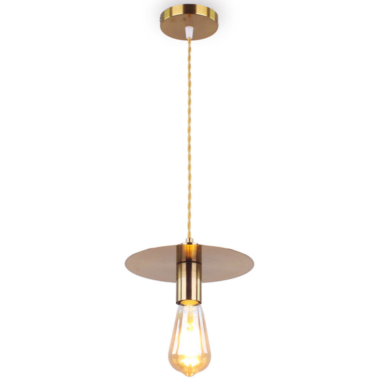 2020 New Design Pendant Lighting Lamparas Colgantes Gold Luminaire Industrial Lamp for Kitchen Island Dinning Room Bedside VP020
