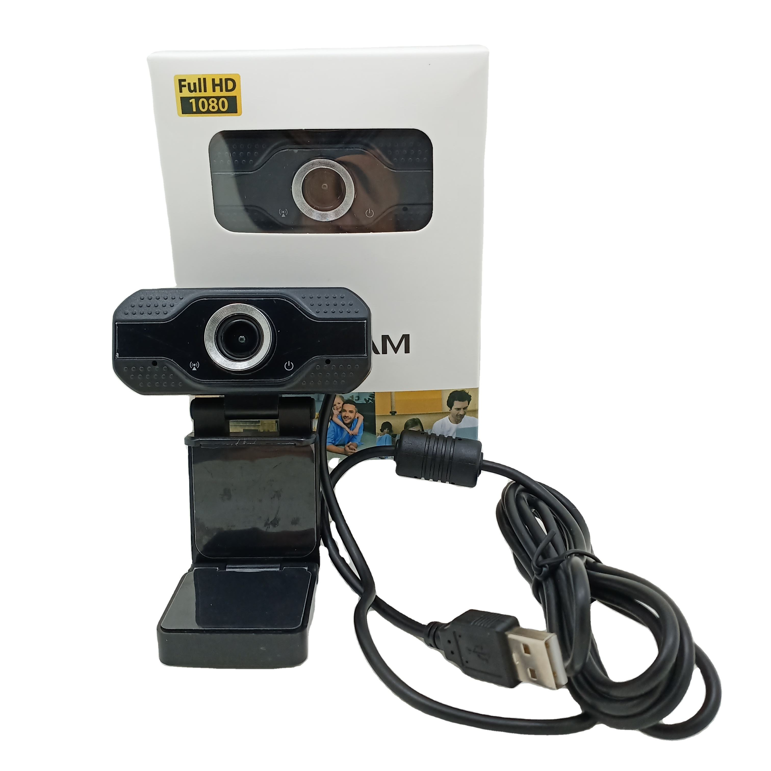 Computer Office Webcam USB 2.0 2 Megapixel High Definition Camera Web Cam noise reduction MIC Clip-on For Skype notebook laptops