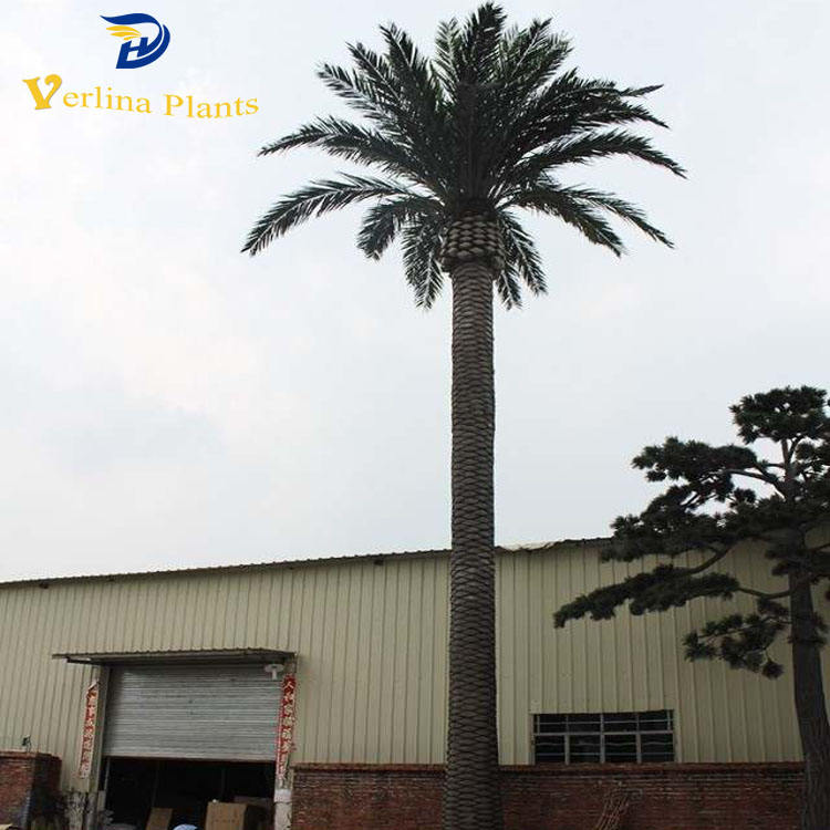 Artificial trees Tissue culture date palm tree for plaza landscape ourdoor decoration