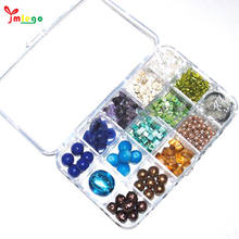 Large Quantity Glass Beads Jewelry Making Craft Kit For Adult  latest beads design in nigeria