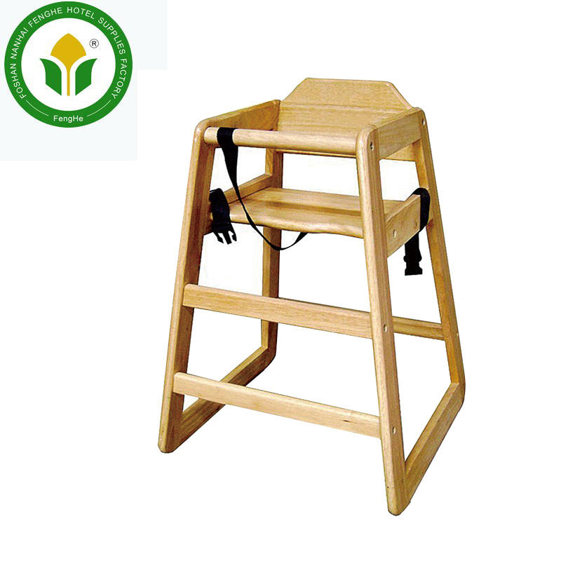 Wholesale sold wooden baby high chairbaby feeding chair