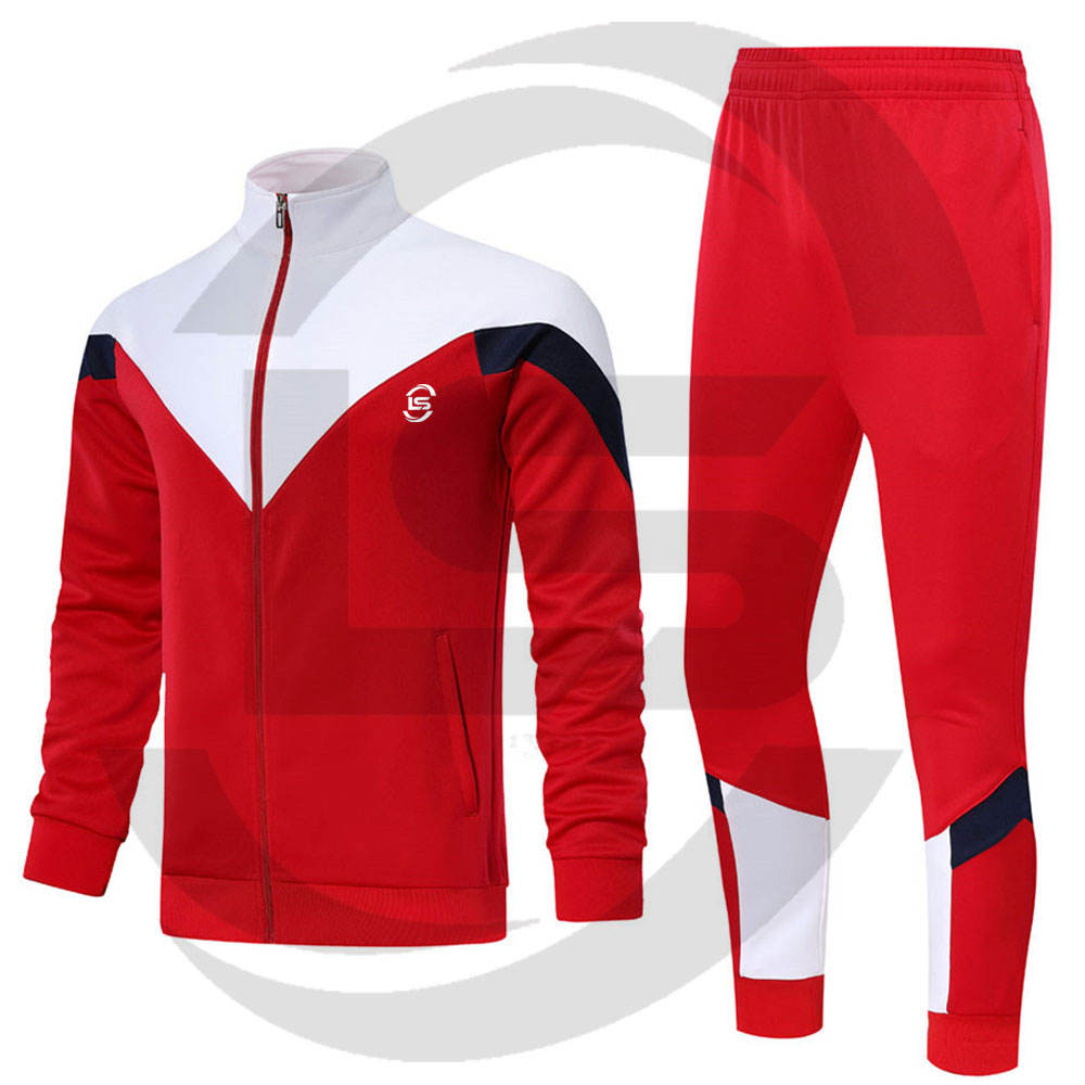 Latest Design Tracksuit Men In Wholesale Price Custom Adult Size Comfortable Tracksuit For Men