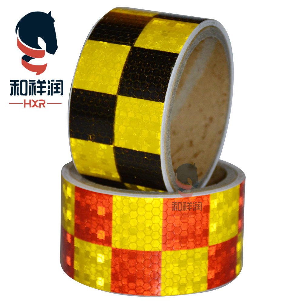 No fading car body sticker reflector sticker round adhesive truck reflective tape