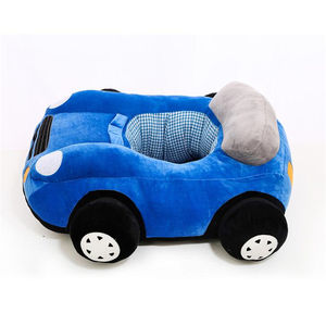 Cushion Decoration Chair Soft Police Mini Cooper Small Stuffed Baby Toy Peluche Promotion Gift China Supplier Custom Plush Car