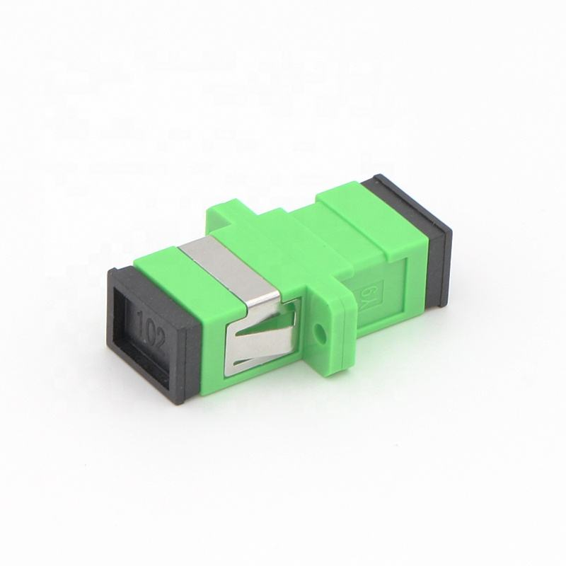 High Quality FTTH SM SC APC to SC/APC Simplex Fiber Optic Adapter
