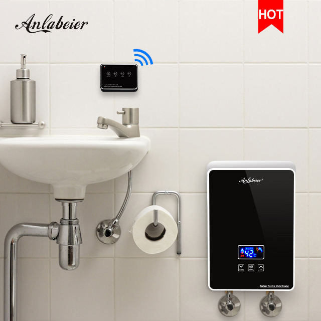 Factory price bathroom electric shower instant electric water heater electric tankless hot water heater