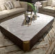 Marble Coffee Table Coffee Table Marble Marble Top Rectangle Storage White Stone Modern Living Room Furniture Design Coffee Tea Table