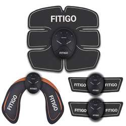 WHOLESALE FITIGO  XT5 ULTIMATE  Ultimate EMS ABS & Arms Muscle Simulator HIPS Training Home Abdominal Trainer Set
