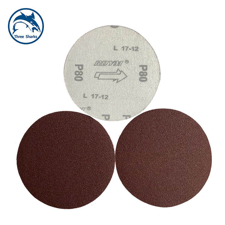 Chinese factories sell flocked sandpaper disk sandpaper, cost-effective