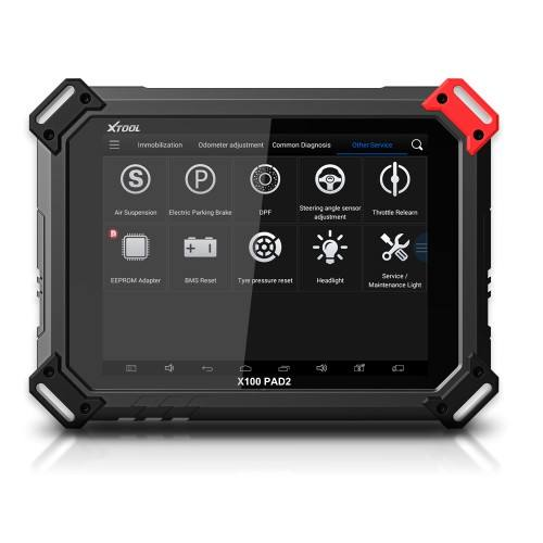 100% Original xtool X100 PAD2 Pro Professional OBD2 Car Diagnostic Tool with key programmer