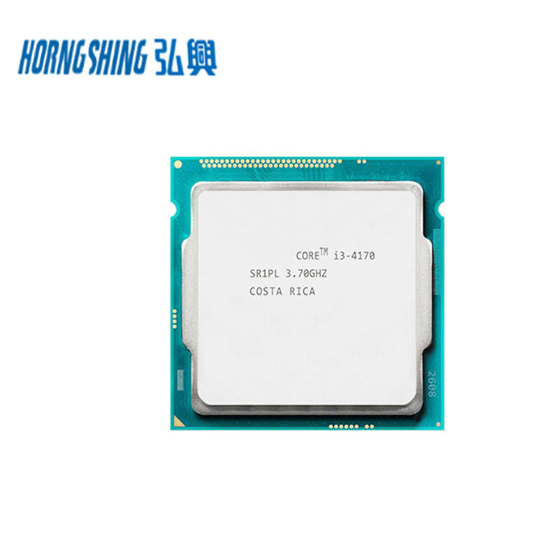 HORNG Electronic Co Ltd SHING Supplier Intel Core I3 4170 3.7GHz Dual Core 4MB Cache LGA 1150 Socket I3 Processador 4th prosesor <span class=keywords><strong>Generasi</strong></span>