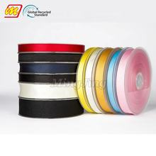 Hot Sell Eco Friendly GRS Recycle Polyester Material R-PET Ribbon Manufacturer In China