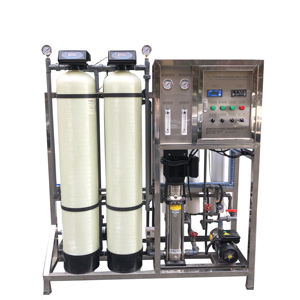 salt water high TDS water purifying plant with reverse osmosis 500LPH