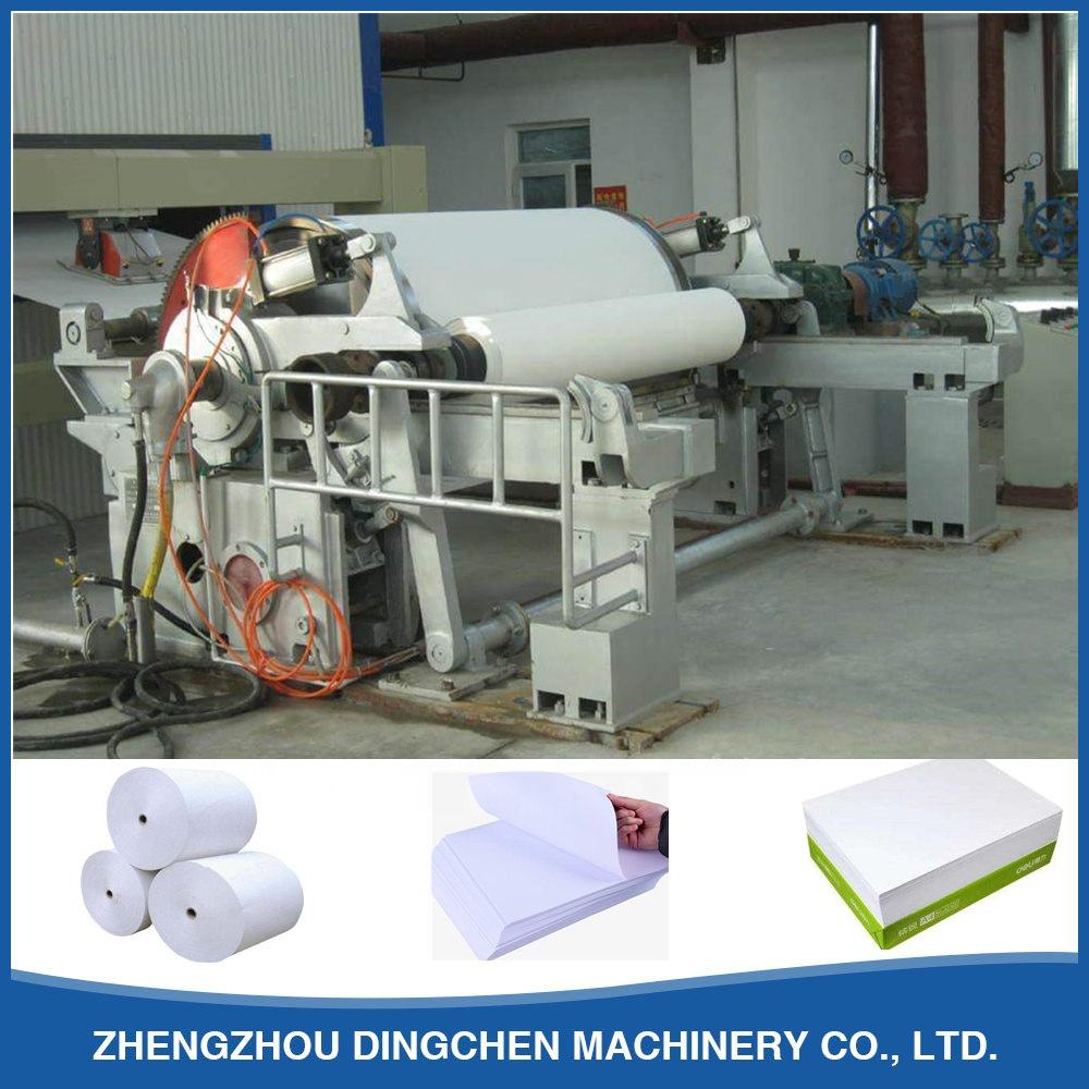 3200mm 100TPD Office Writing Printing Copy Paper Machine