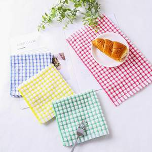 Organic Cotton Tea Towels Custom Kitchen Cloth Linen Cotton Kitchen Towel Set