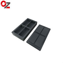 OUZHENG 1 KG Gold  Ingot Graphite Mold for Melting Casting Refining Scrap